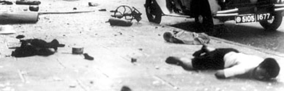 The First American Casualty of World War II