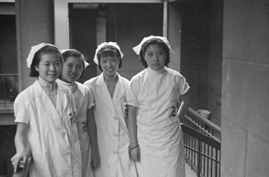 Nurses at hospital