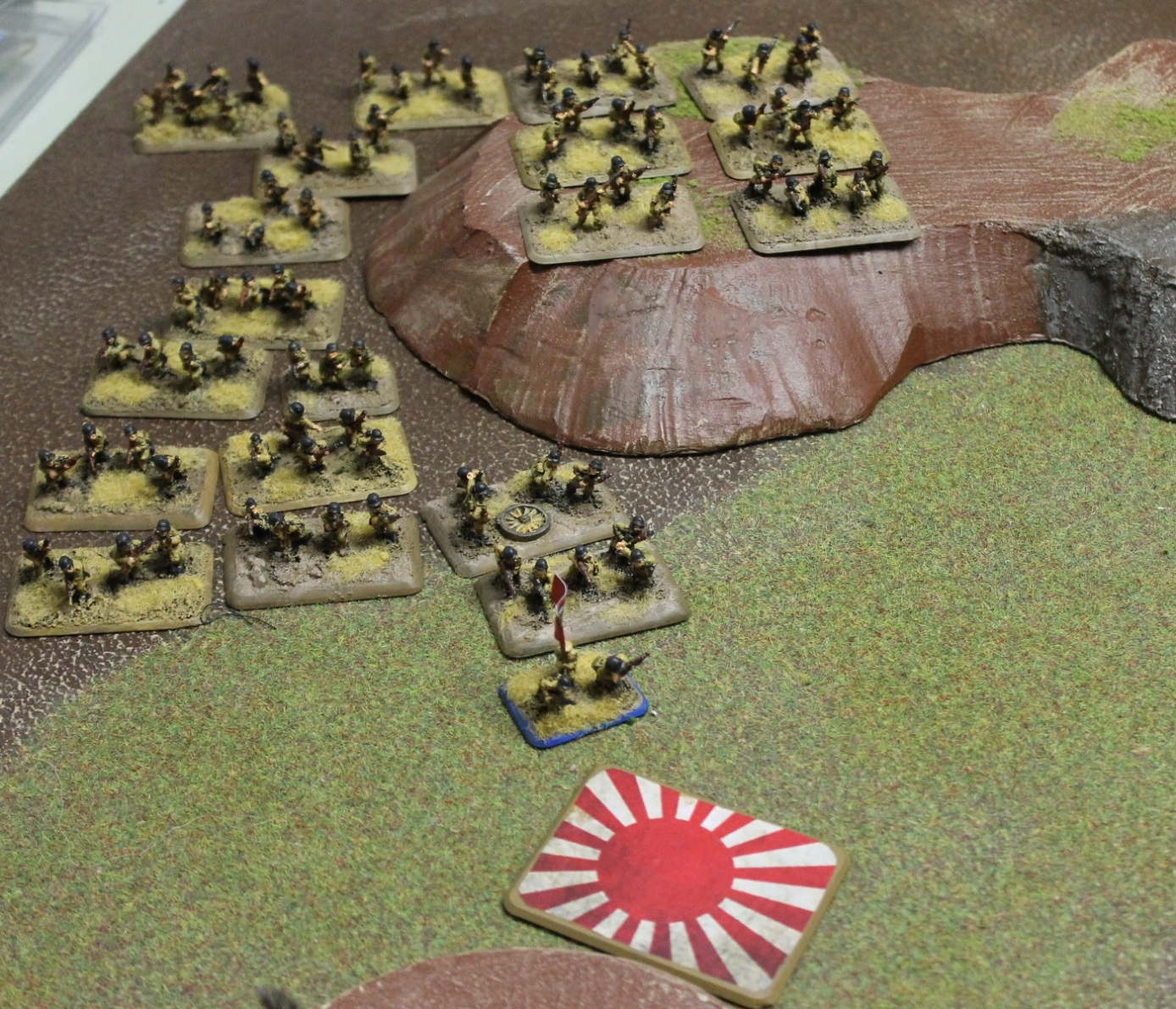 The second Chinese company advances on to the second objective but are machine-gunned before they manage to dig in.