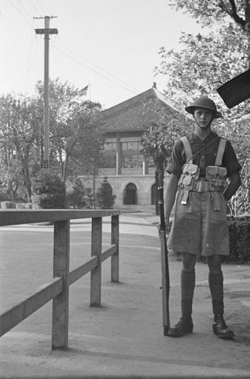 American guard, St. John's University, Shanghai