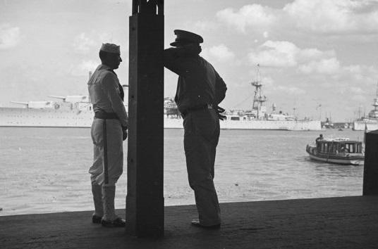 USS Augusta in Shanghai